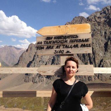 Люблю покорять вершины. На самой высокой точке Талгарского перевала
